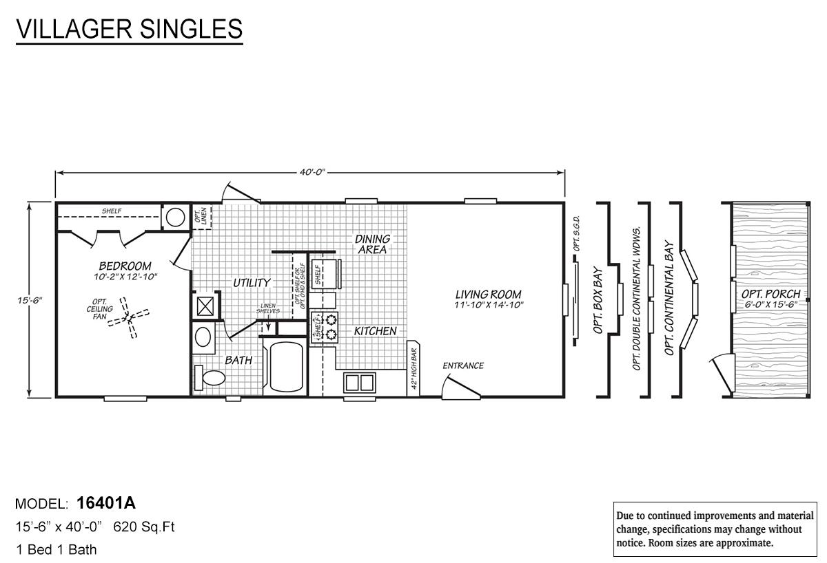 Villager Singles - 16401A