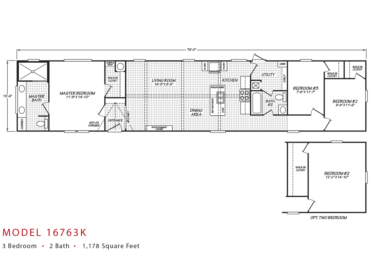 Canyon Lake 16763K Layout