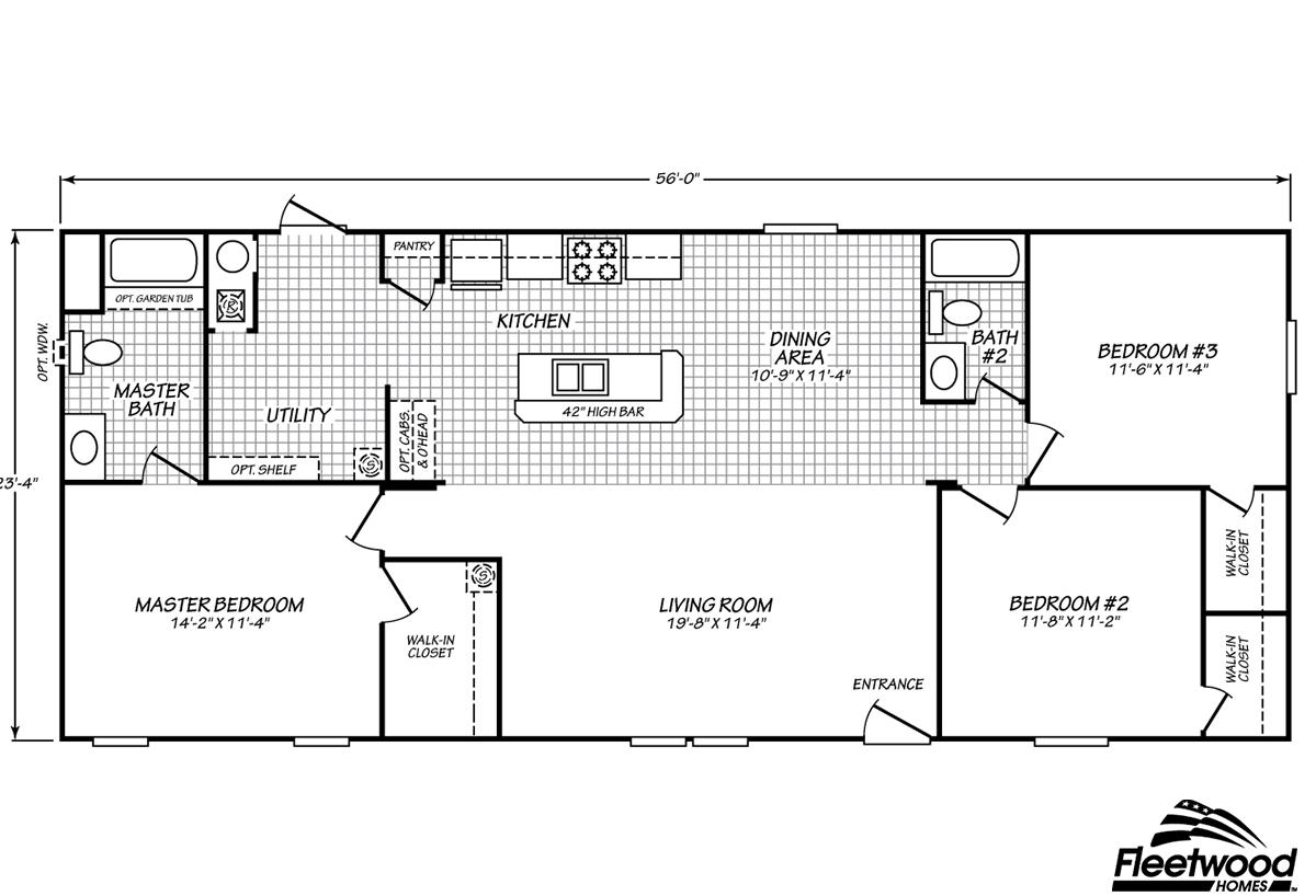 Fleetwood Homes Douglas In Douglas Ga Manufactured Home Manufacturer