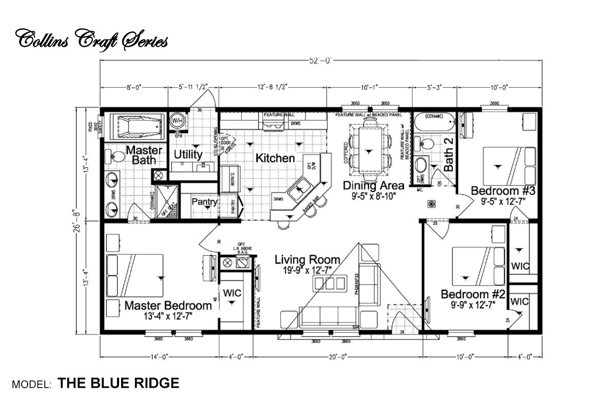Collins Craft The Blue Ridge Layout