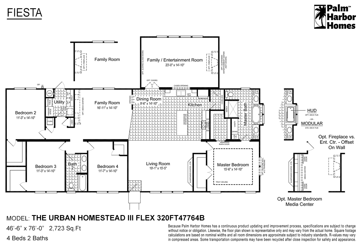 Fiesta - The Urban Homestead III Flex 320FT47764B