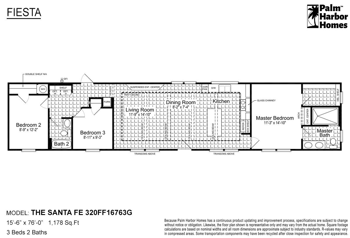 Fiesta - The Santa Fe 320FF16763G