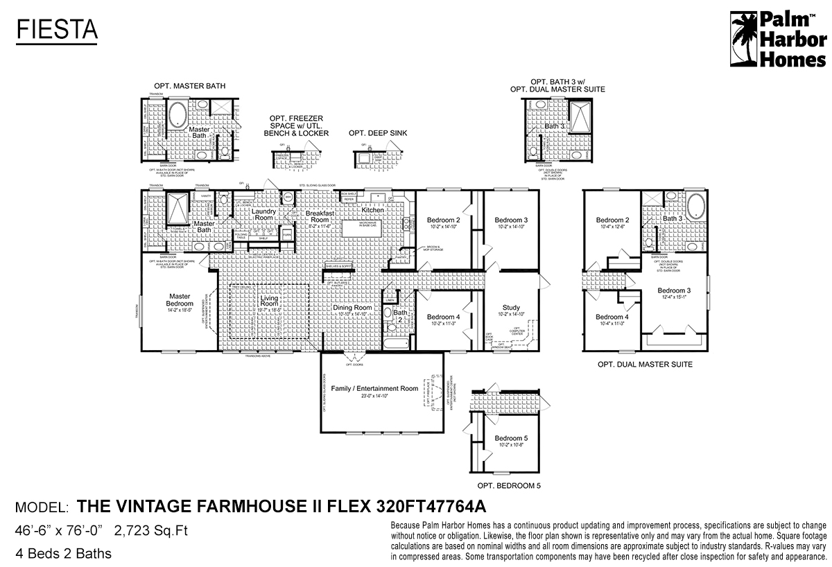 Fiesta - The Vintage Farmhouse II Flex 320FT47764A
