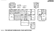 Fiesta The Vintage Farmhouse II Flex 320FT47764A Layout