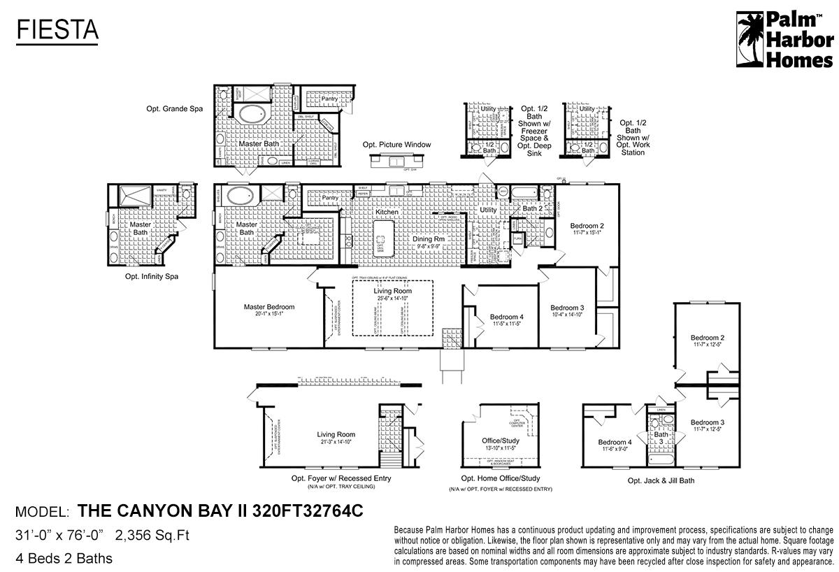 Fiesta - The Canyon Bay II 320FT32764C