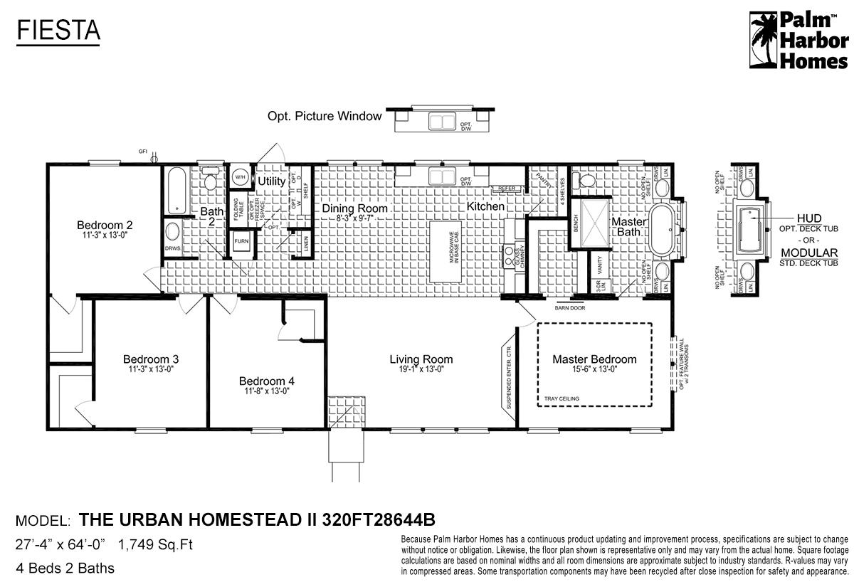 Fiesta - The Urban Homestead II 320FT28644B