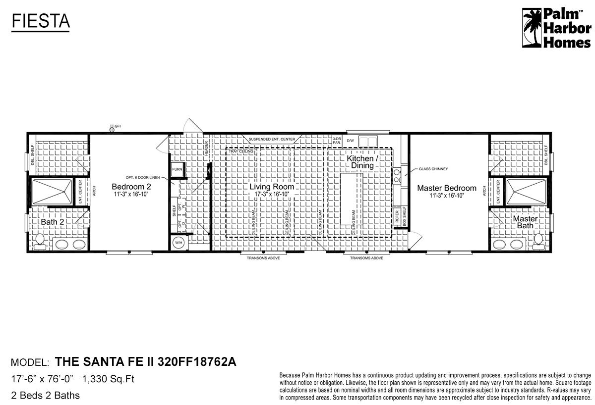 Fiesta The Santa Fe II 320FF18762A Layout
