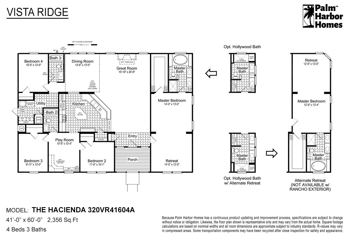 Vista Ridge - The Hacienda 320VR41604A