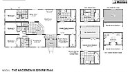 Vista Ridge The Hacienda III 320VR41764A Layout