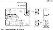 Vista Ridge The Hacienda Flex 320VR57604A Layout