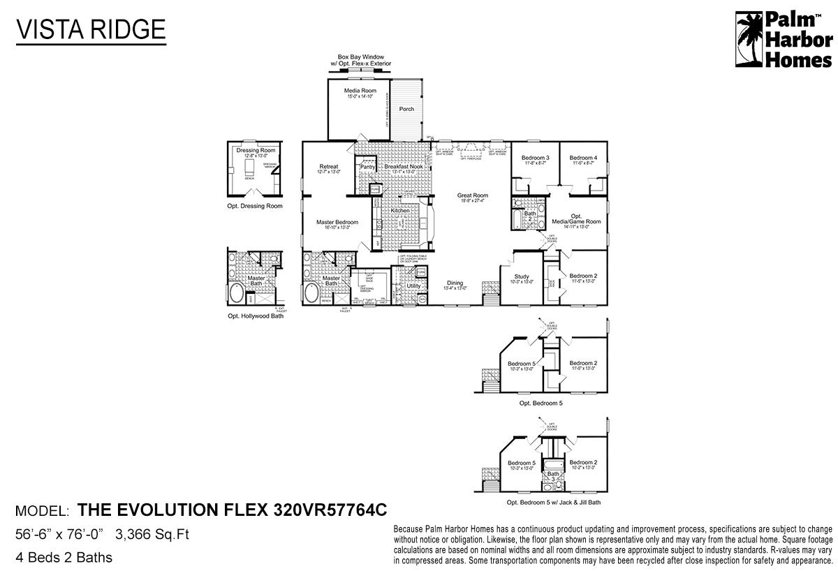 Vista Ridge - The Evolution Flex 320VR57764C