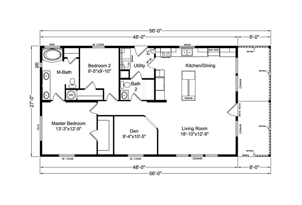 Palm Harbor The American Dream K Layout