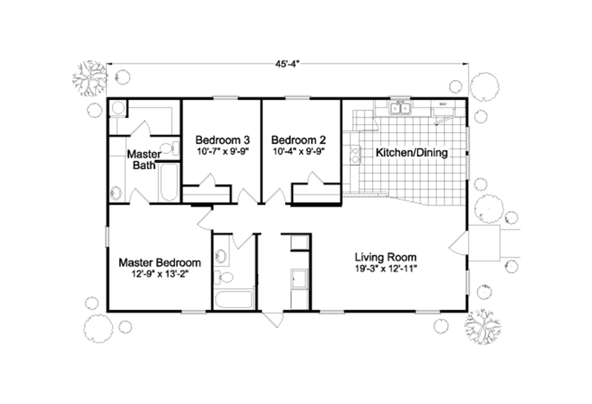 Palm Harbor The River View Layout