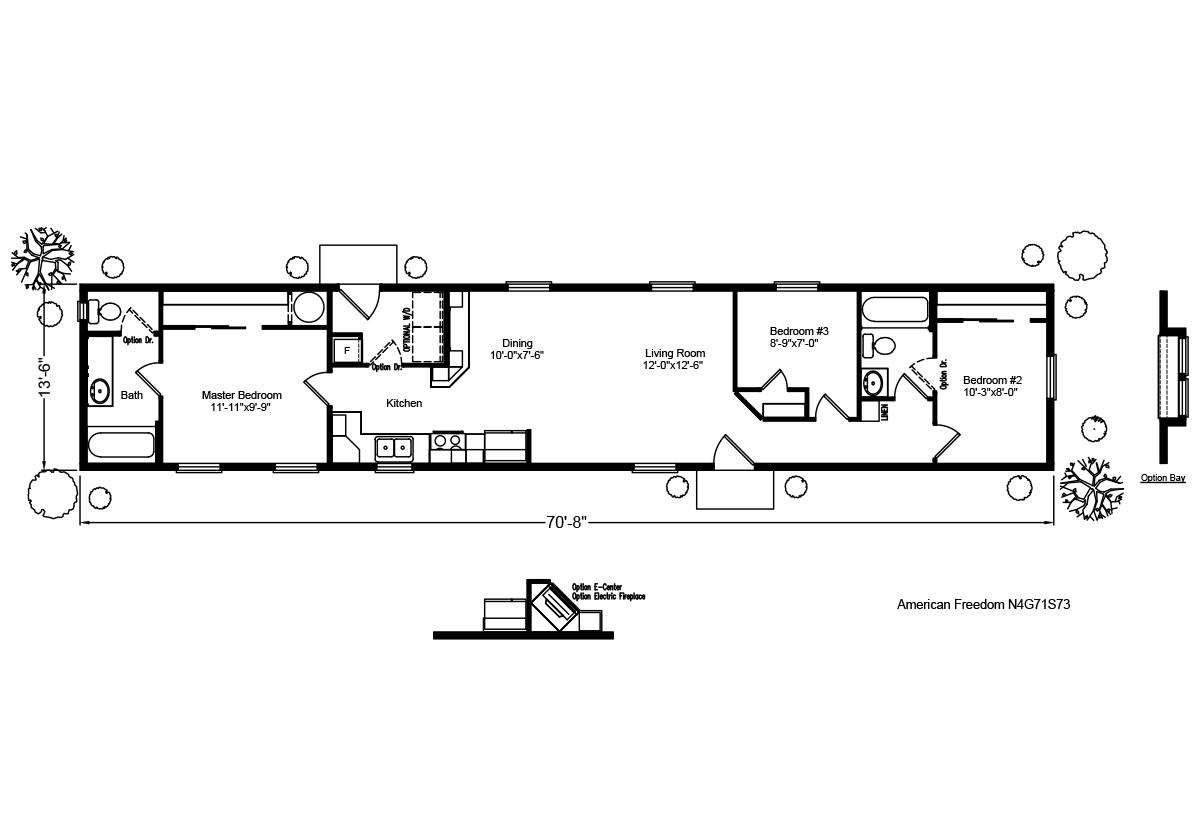 Palm Harbor The American Freedom IV N4G71S73 Layout