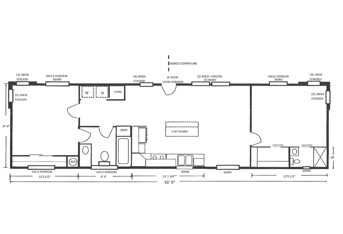 Palm Harbor The American Freedom 14562A Layout