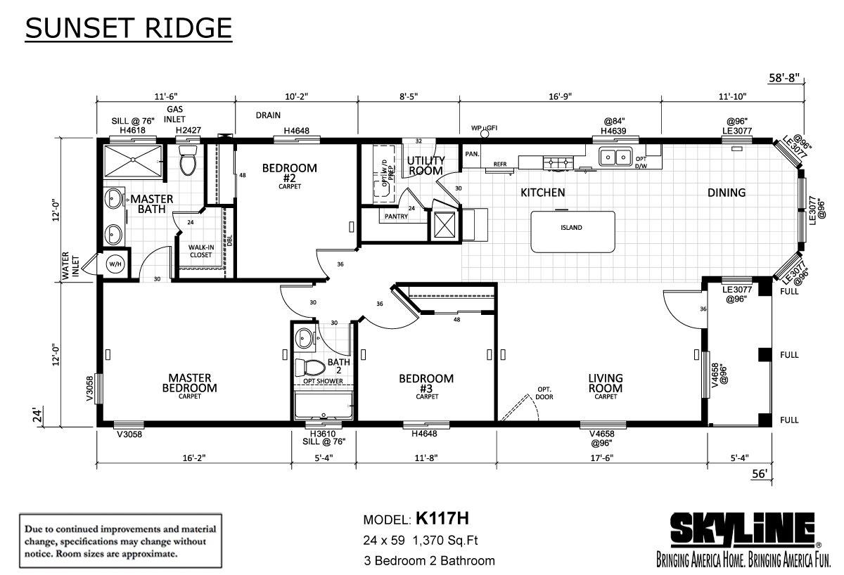 Sunset Ridge - K117H