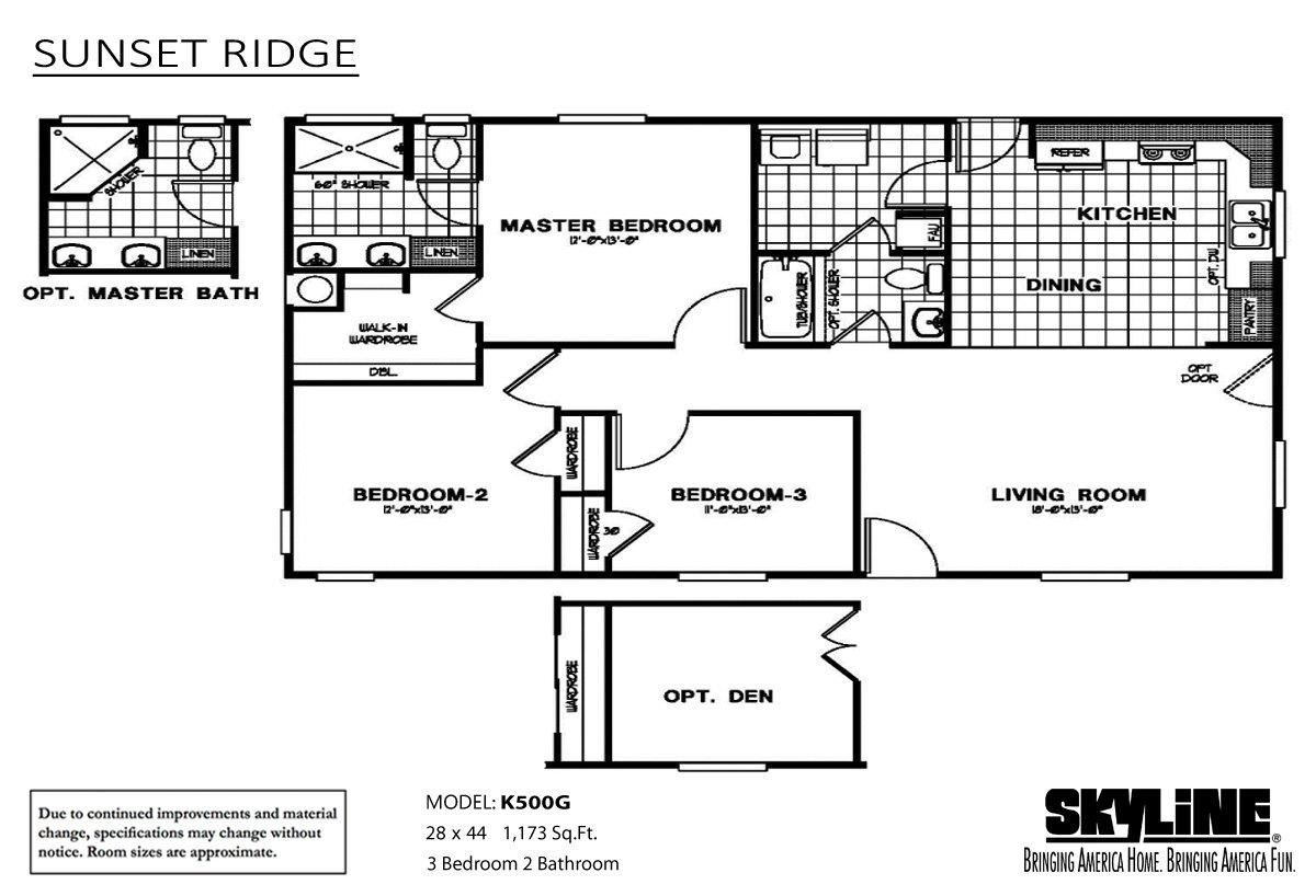 Sunset Ridge - K500G