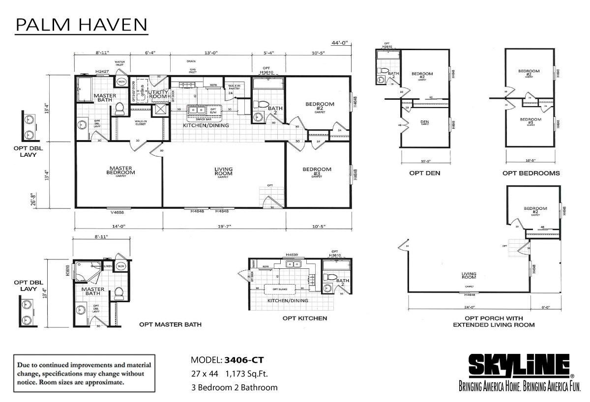 Palm Haven - 3406-CT