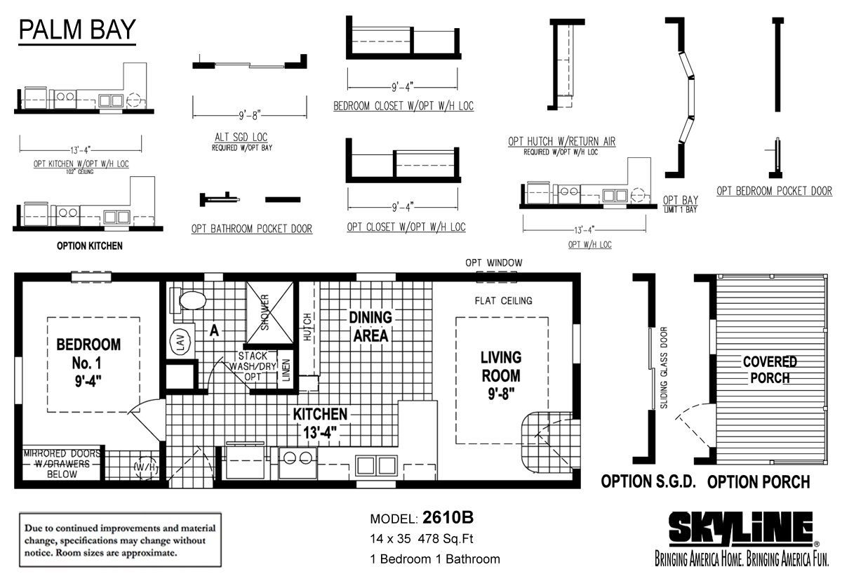 Palm Bay 2610B Layout
