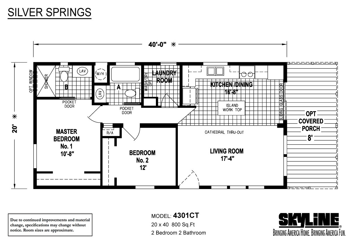 Silver Springs 4301-CT Layout