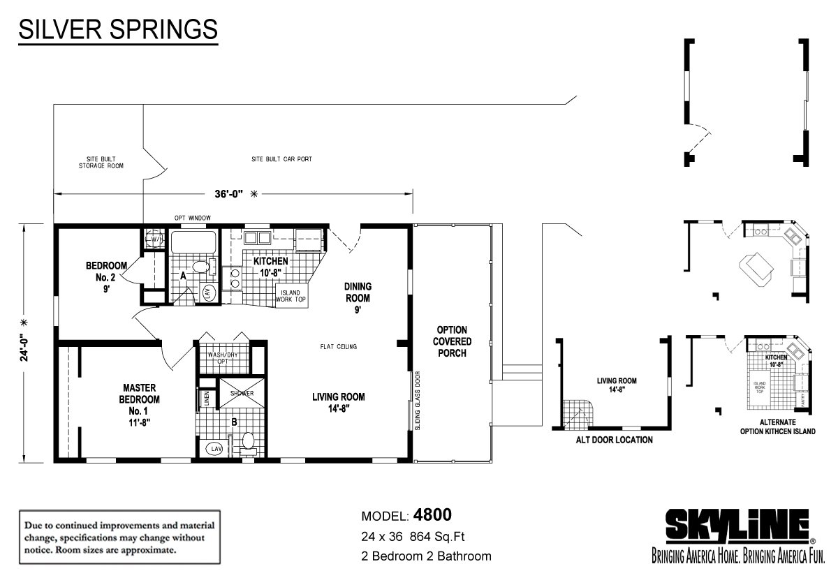 Silver Springs 4800 Layout