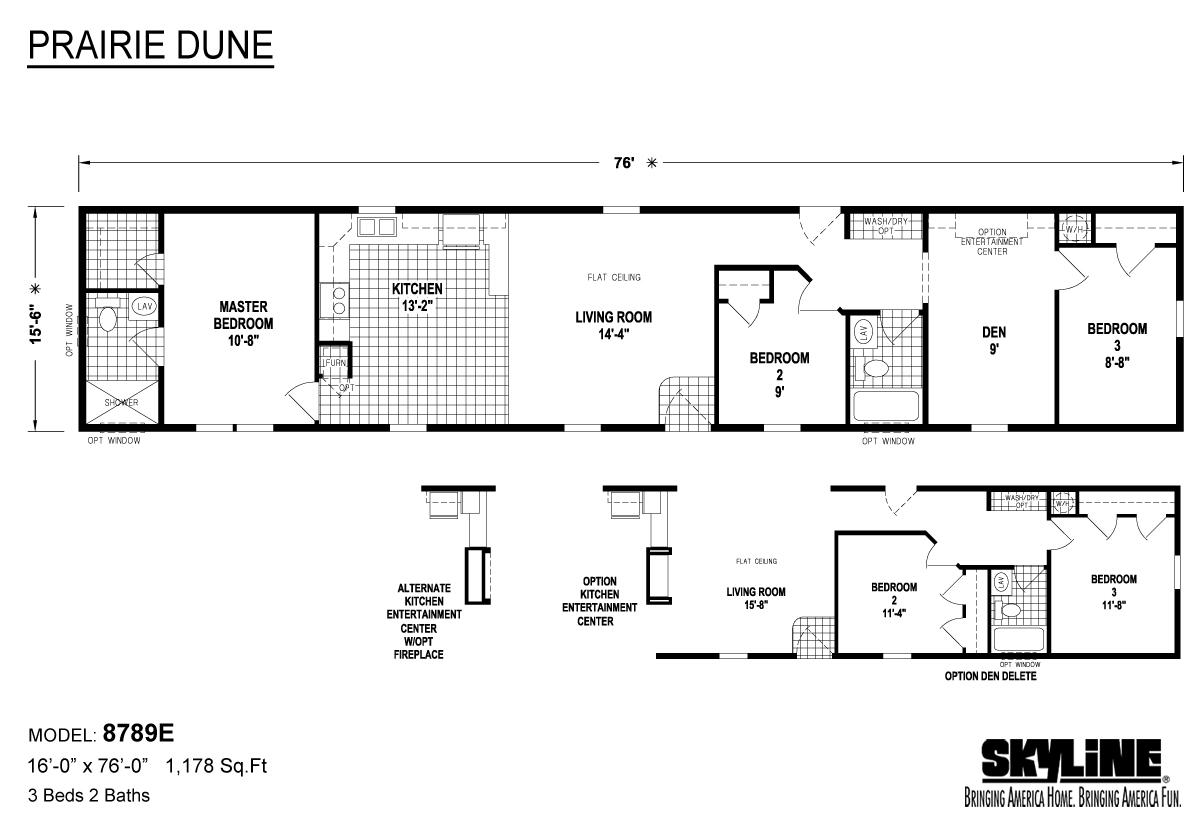 Prairie Dune 8789E Layout