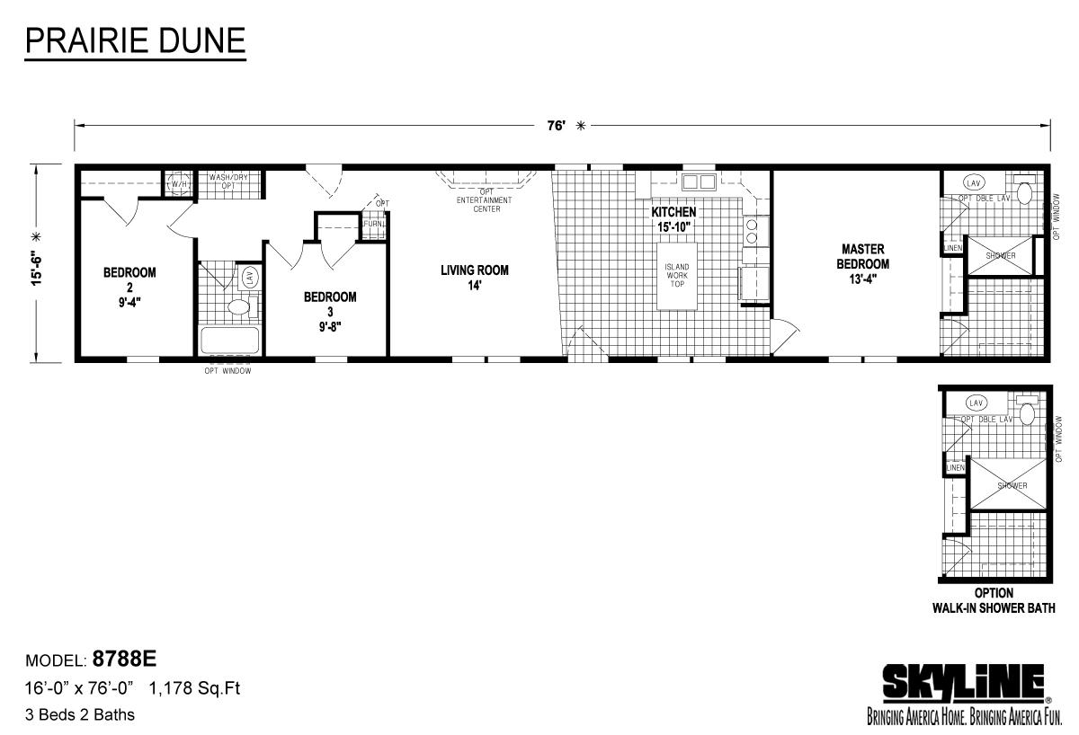 Prairie Dune 8788E Layout