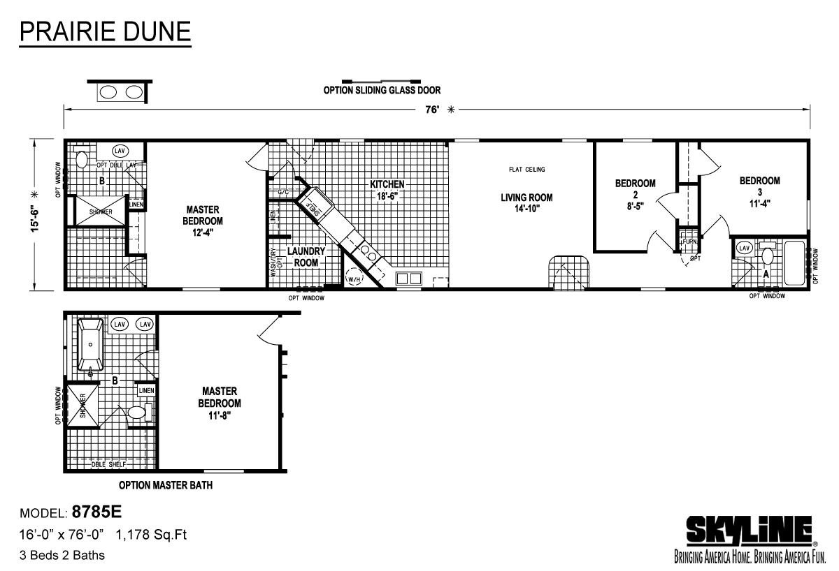 Prairie Dune 8785E Layout