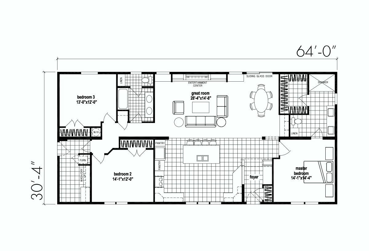 Family of Homes 5102 Layout