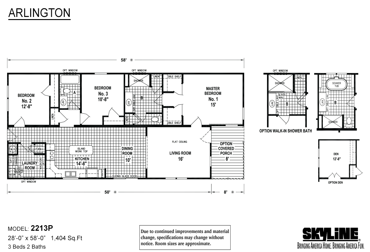 Arlington 2213P Layout