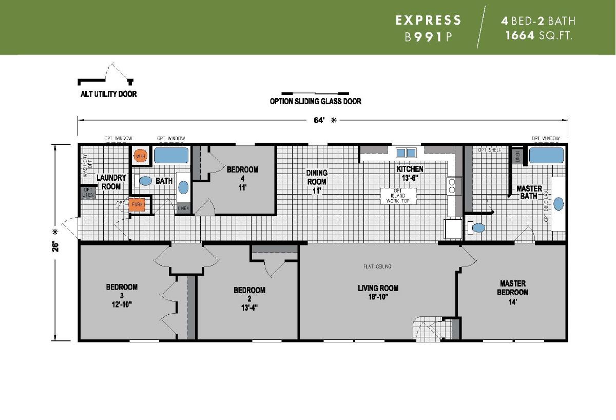 Express B991P Layout
