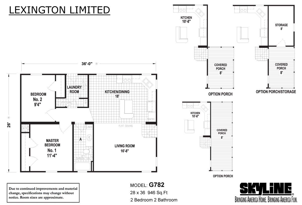 Lexington Limited G782 Layout