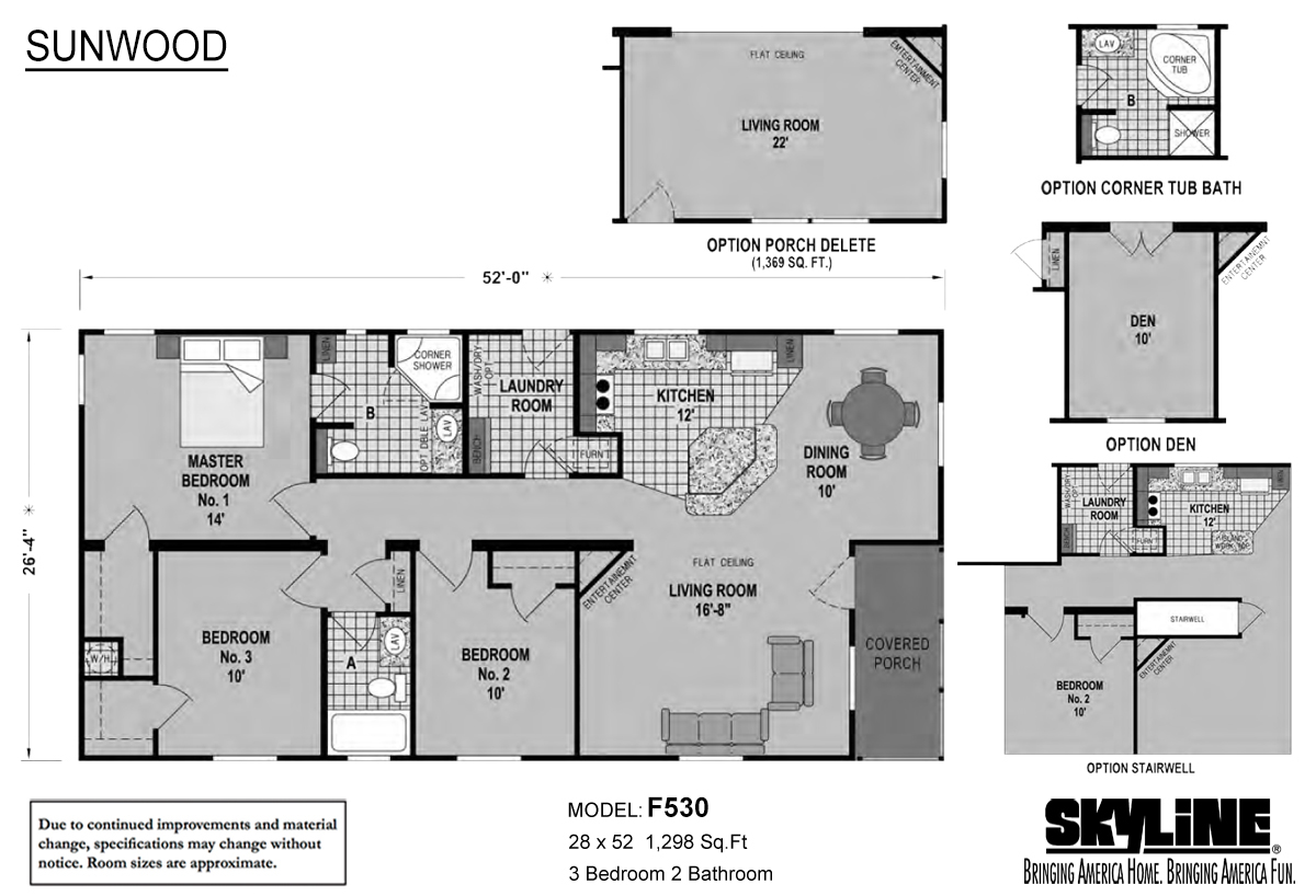 Sunwood - F530