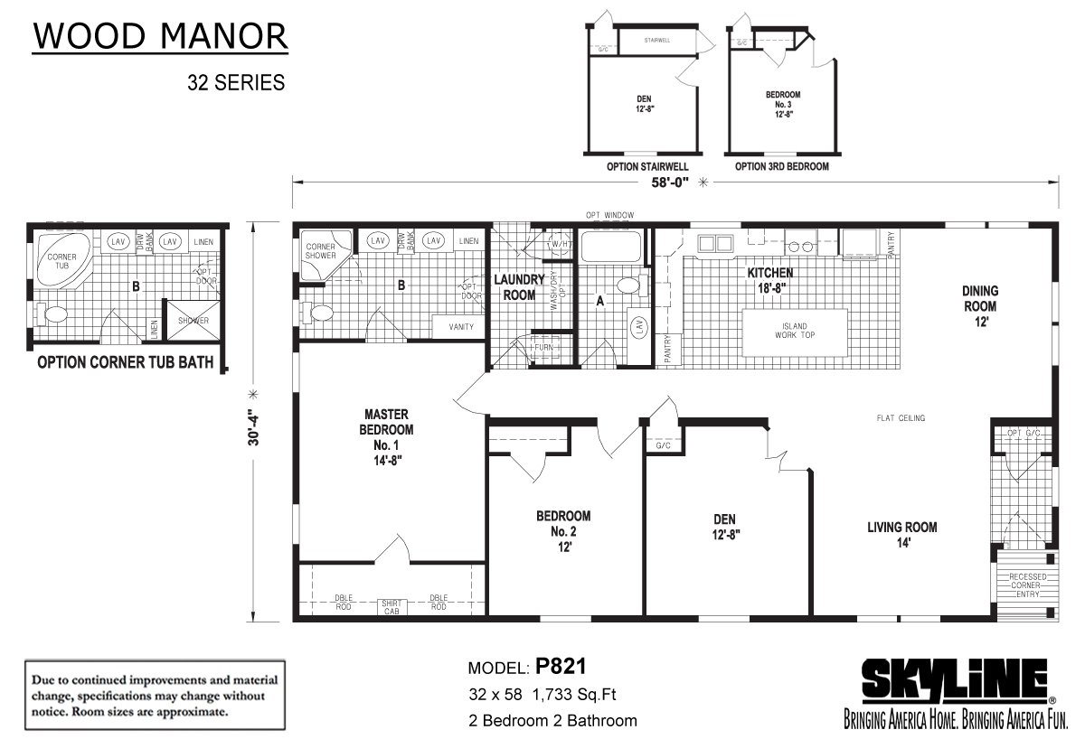Wood Manor - P821
