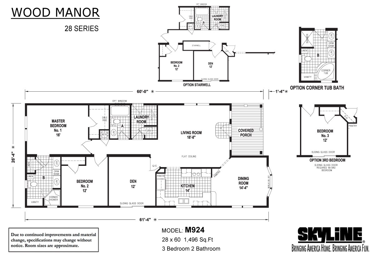 Wood Manor - M924