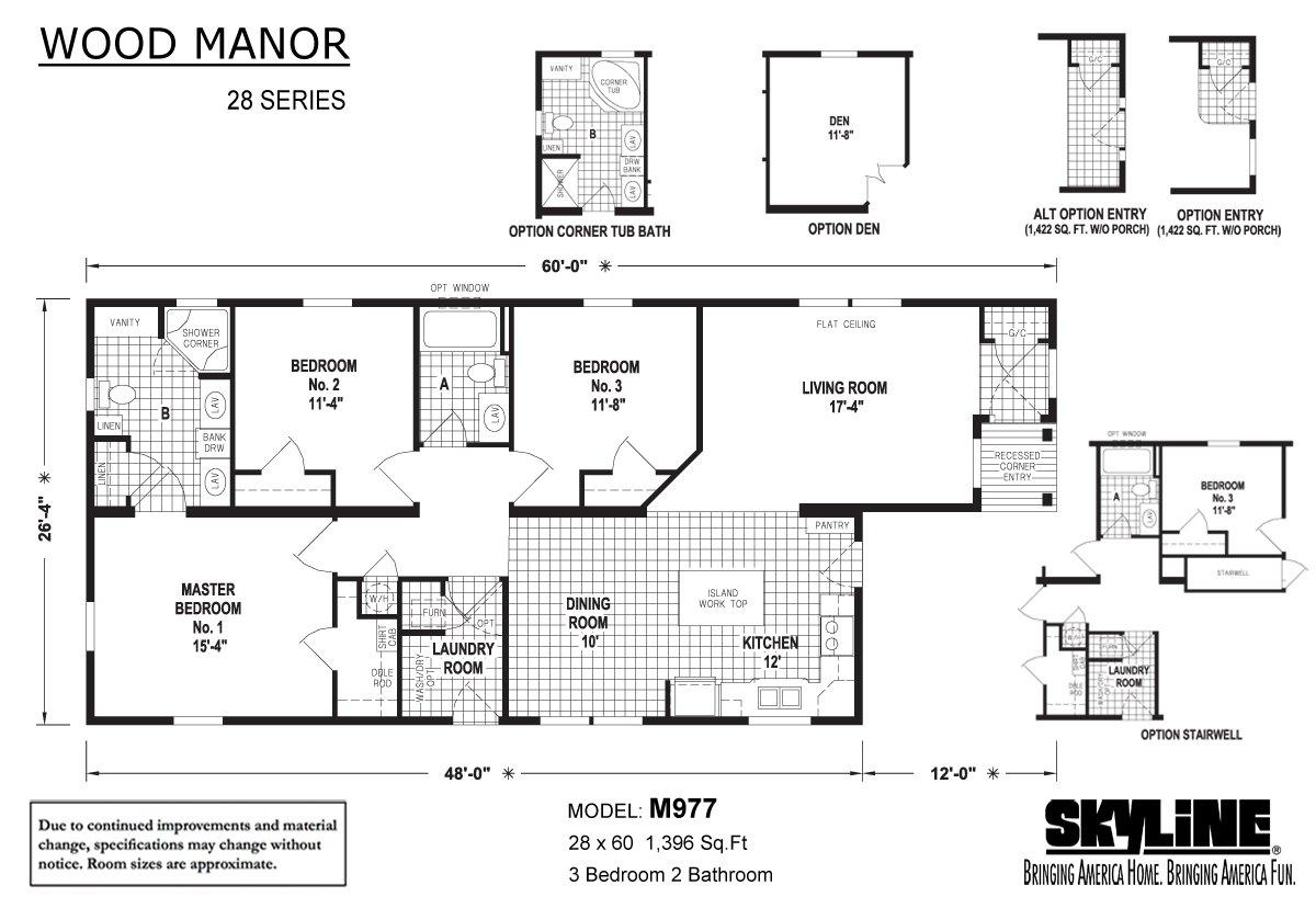 Wood Manor - M977