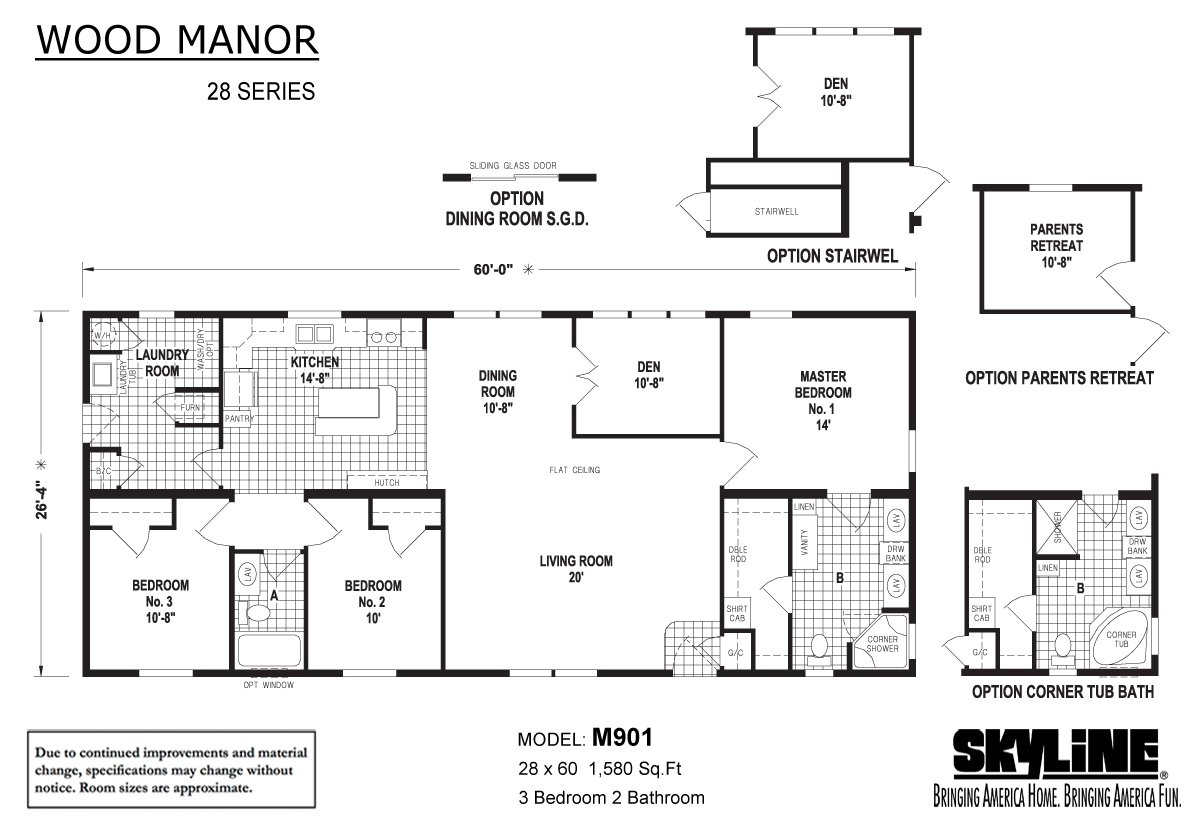 Wood Manor - M901