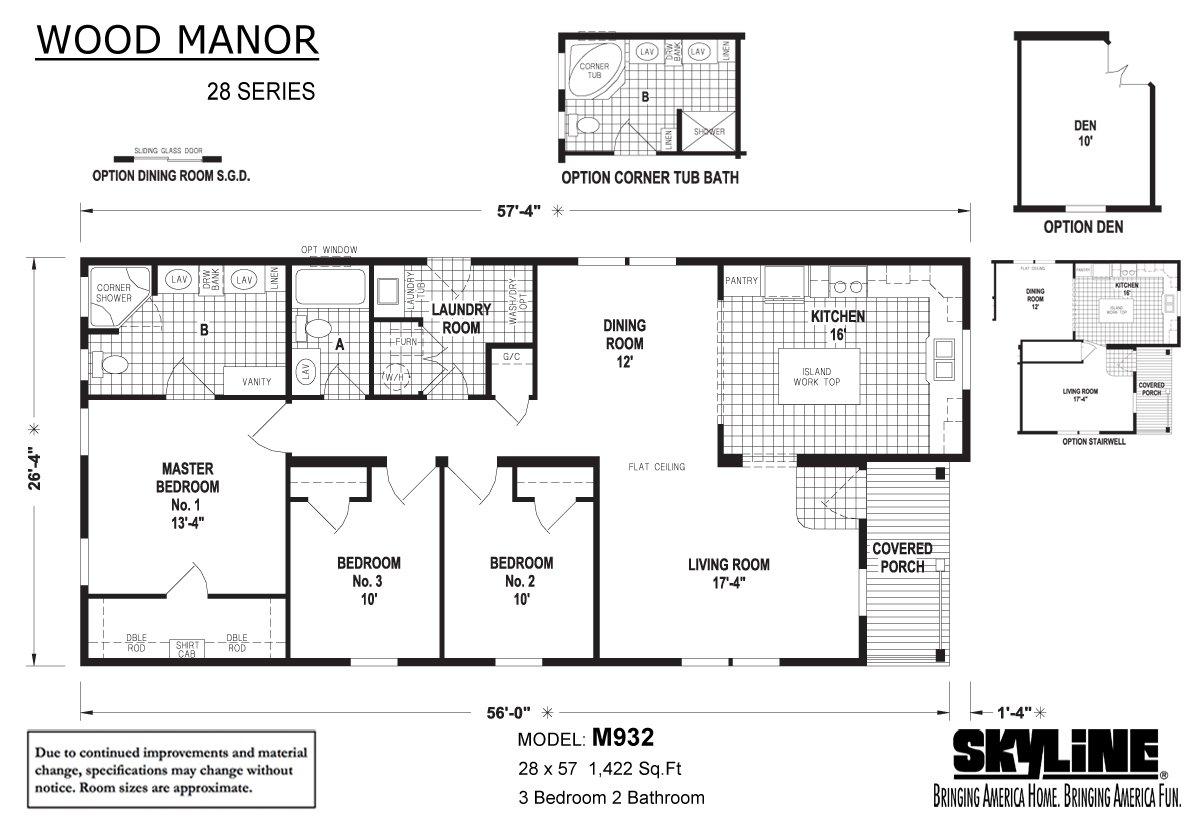 Wood Manor - M932
