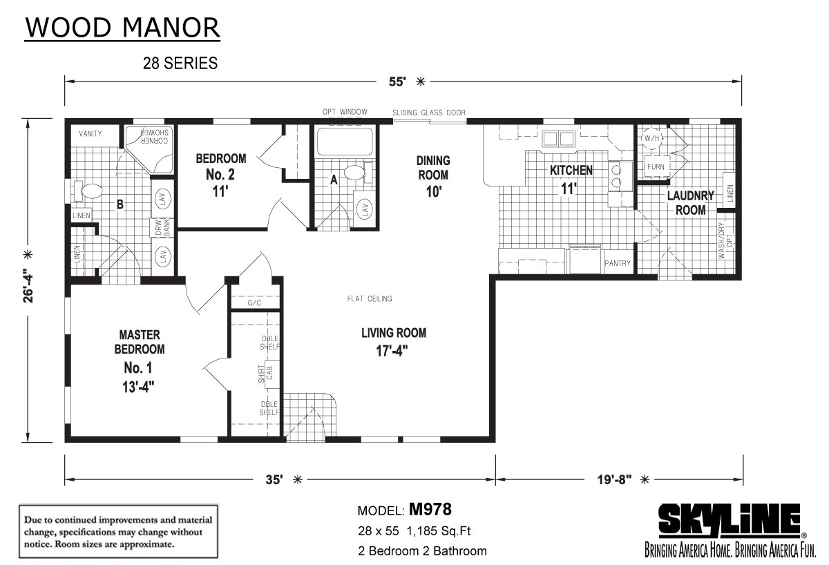 Wood Manor - M978