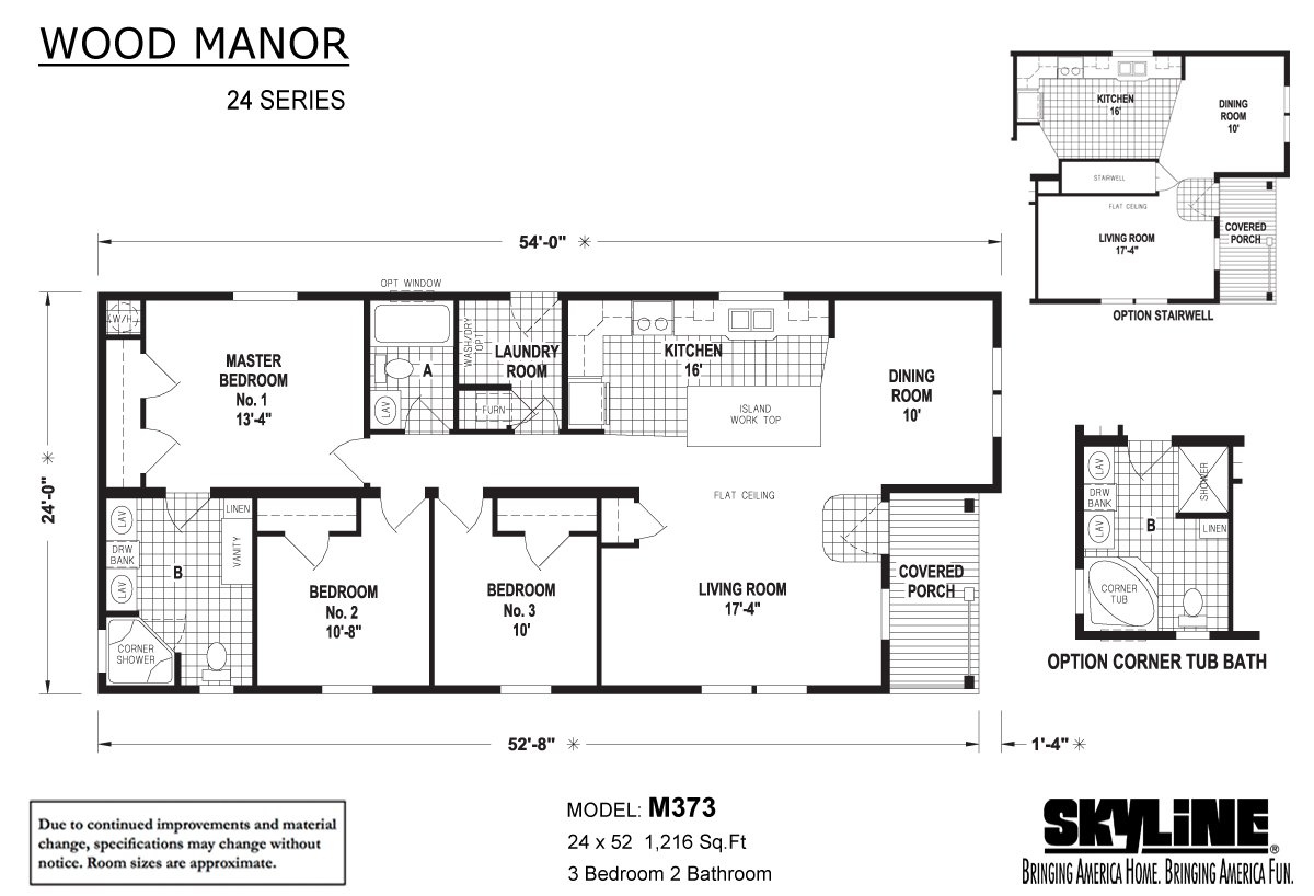 Wood Manor - M373