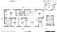 Wood Manor M373 Layout