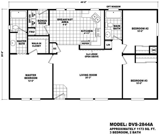 Durango Value DVS-2844A Layout