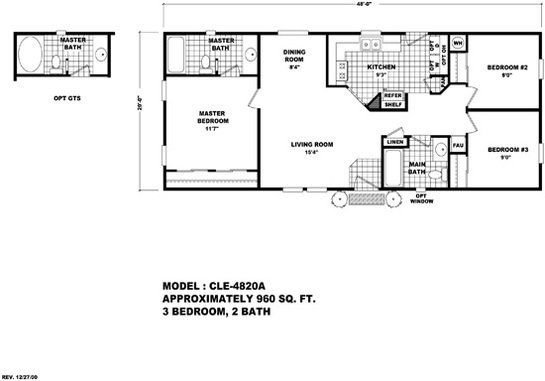 Cle Multi-section CLE-4820A Layout