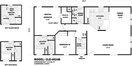 Cle Multi-section - CLE-4824B