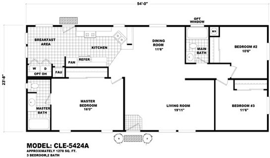 Cle Multi-section CLE-5424A Layout