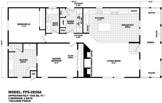 Front Porch - FPS-2858A