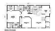 Value Porch VPH-2444B Layout