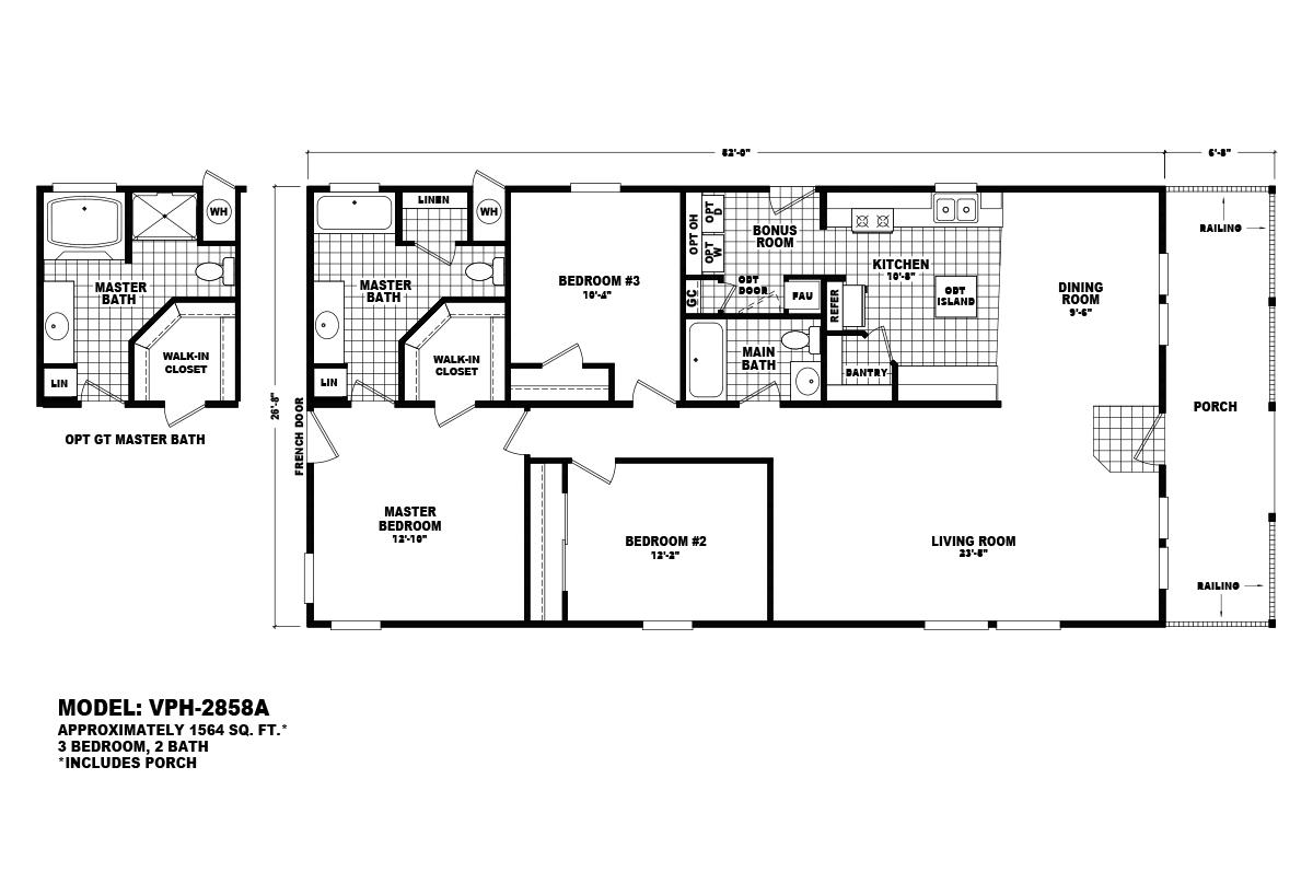 Value Porch - VPH-2858A