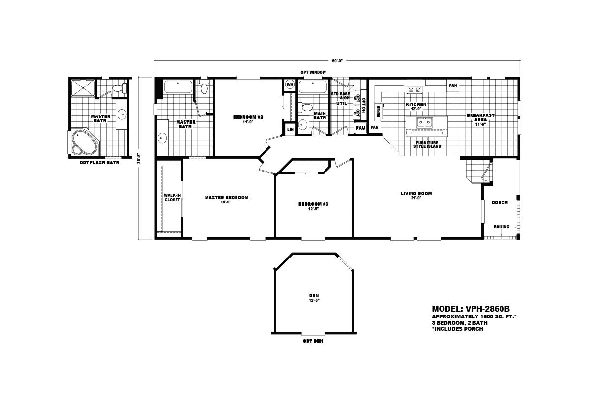 Value Porch - VPH-2860B
