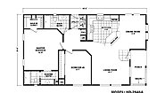 Homes Direct Value HD-2846A Layout